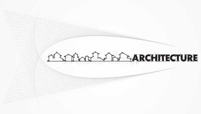 Architektur - Bauunternehmen vektor abbildung