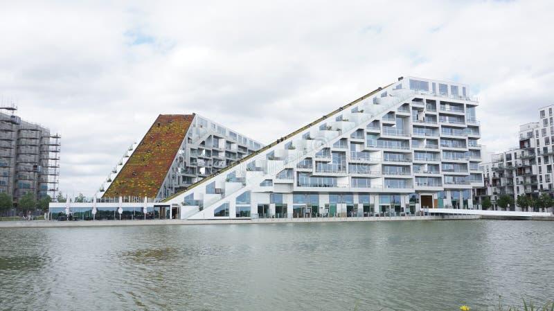 Architektur in Copenhangen stockbild