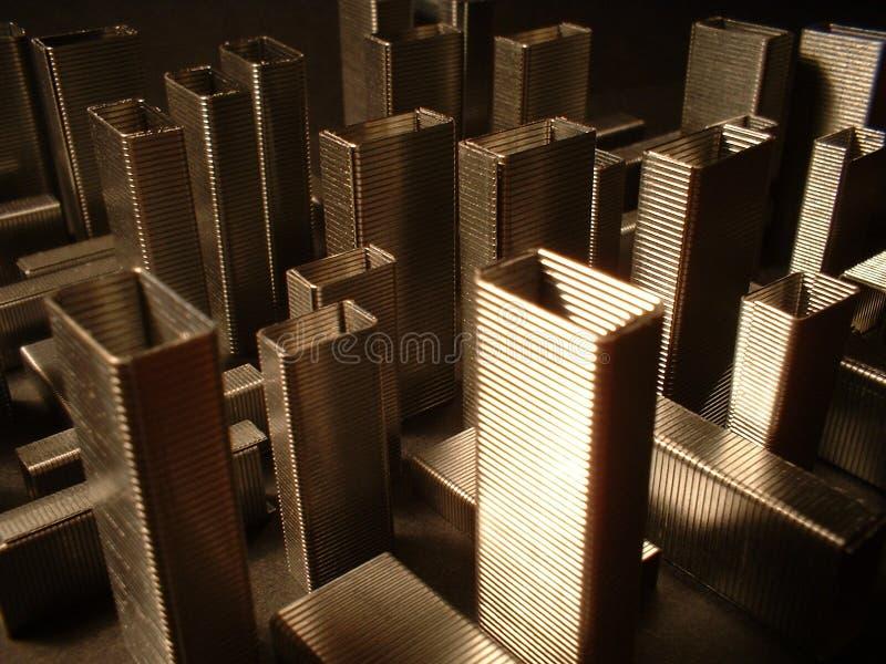 Architektur Der Heftklammern Lizenzfreies Stockbild