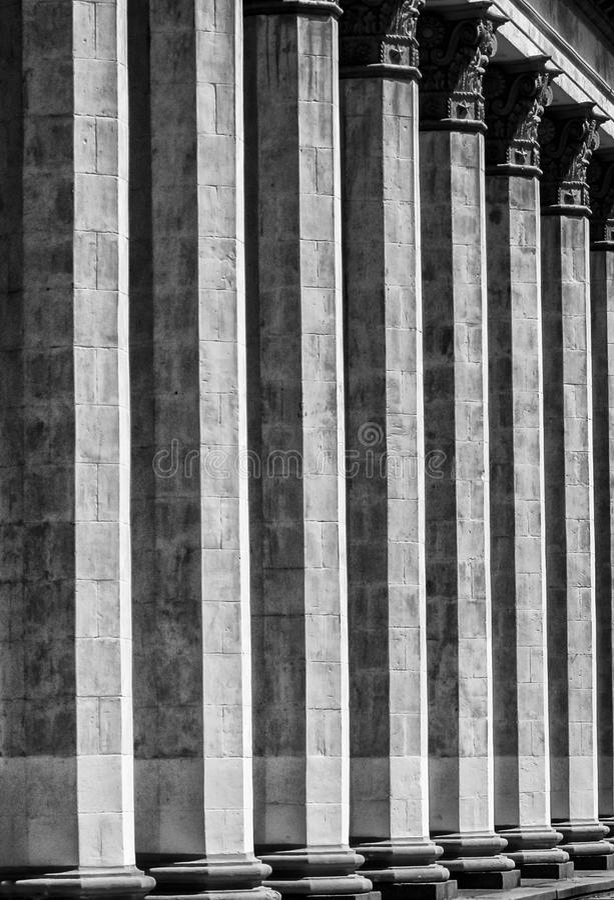 Architektur der Stadt stockbild