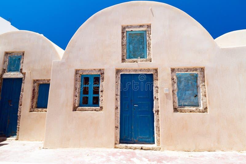 Architektur Des Griechischen Dorfs Stockbilder