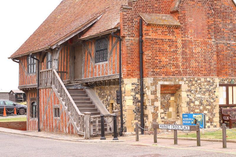 Architektur in England-Stein cotswolds stockbild