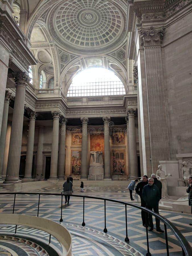 Architektur innerhalb des Pantheons stockfotografie