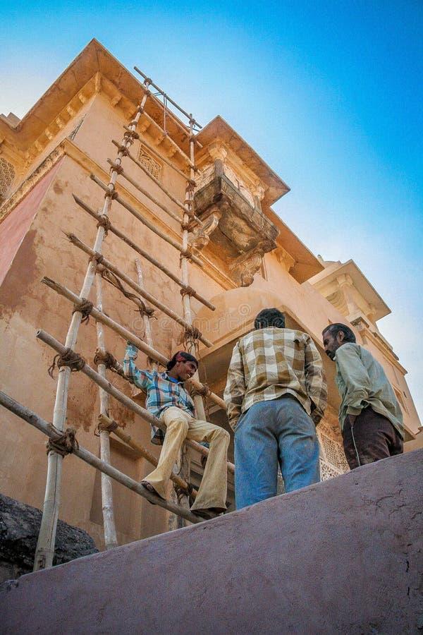 Architektur in Jaipur lizenzfreies stockfoto