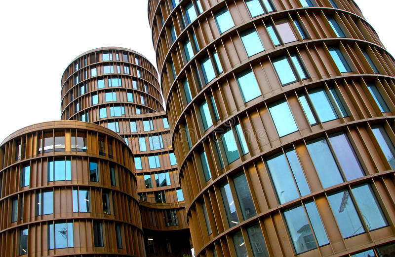 Architektur in Kopenhagen - Axel Towers lizenzfreie stockfotos