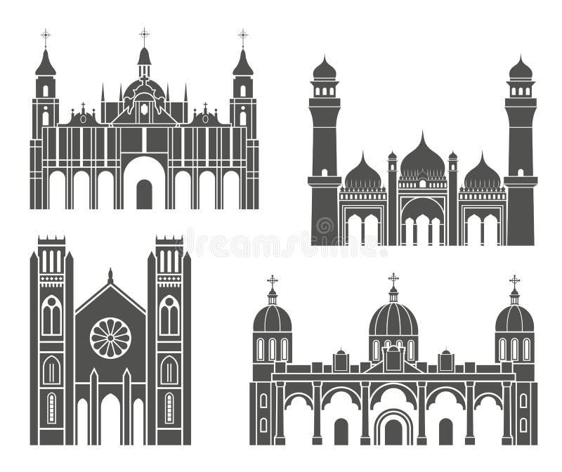 Architektur März 2009 vektor abbildung