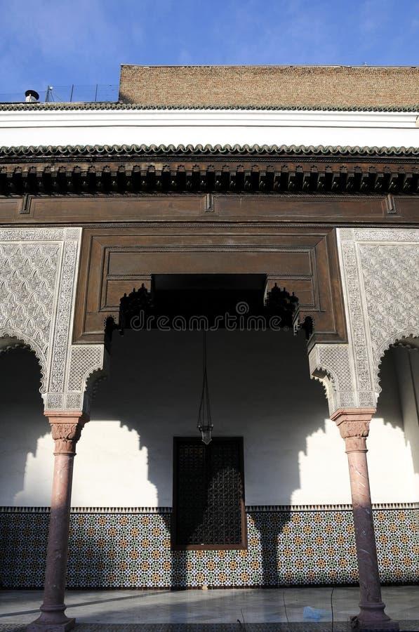 Architektur mit arabischer Art