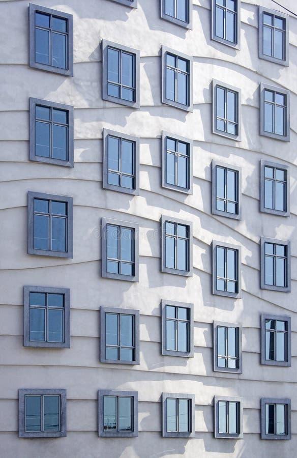 architektur nowoczesne okna obraz stock