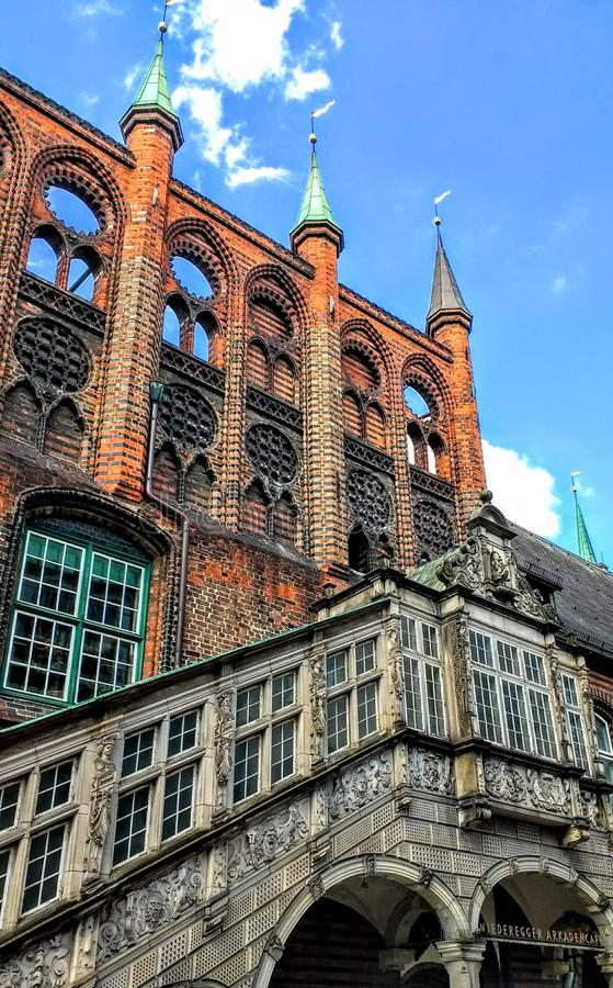 Architektur old historical. Old Town architecture royalty free stock photography