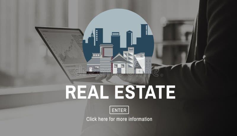 Architektur-Real Estate-Gebäude-Konzept lizenzfreie stockfotos