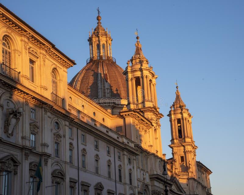 Architektur Rom stockfotografie