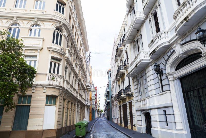 Architektur in San Juan lizenzfreie stockfotos