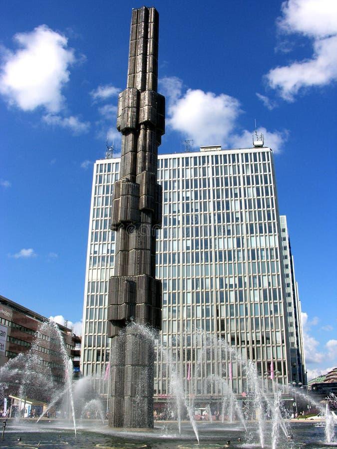 Architektur-Sonderkommando von Stockholm, Schweden lizenzfreie stockbilder