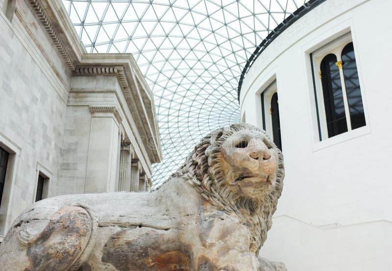 Architektur in British Museum, England stockfotos