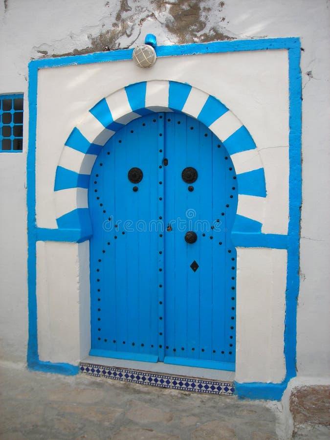 Architektur von Hammamet, Tunesien stockfotos