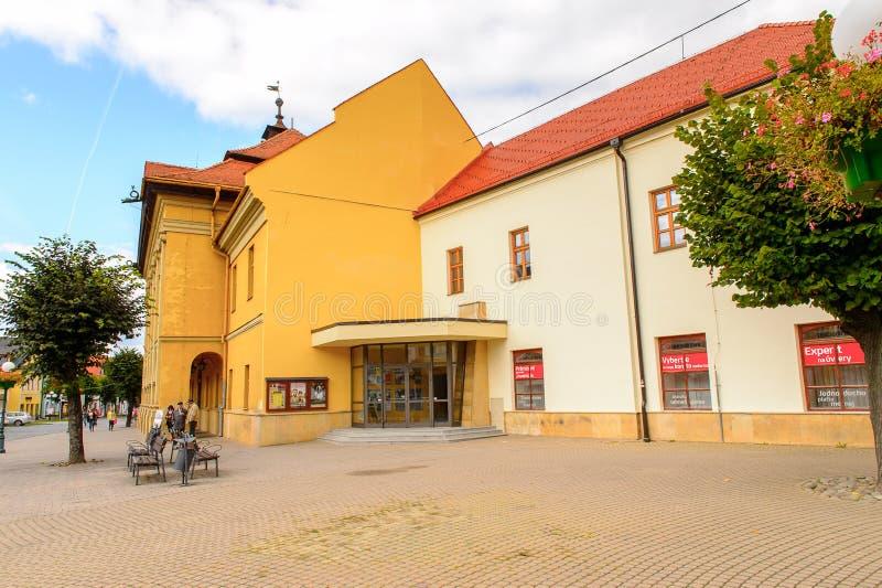 Architektur von Kezmarok, Slowakei, stockfotos