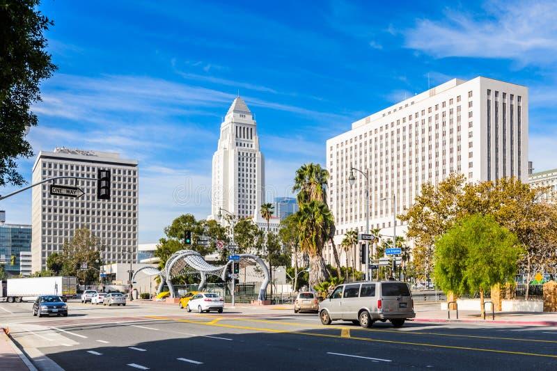 Architektur von Los Angeles, Kalifornien, USA lizenzfreie stockfotos