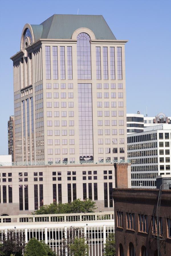 Architektur von Milwaukee stockbilder