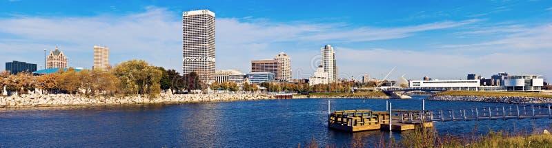 Architektur von Milwaukee stockfoto