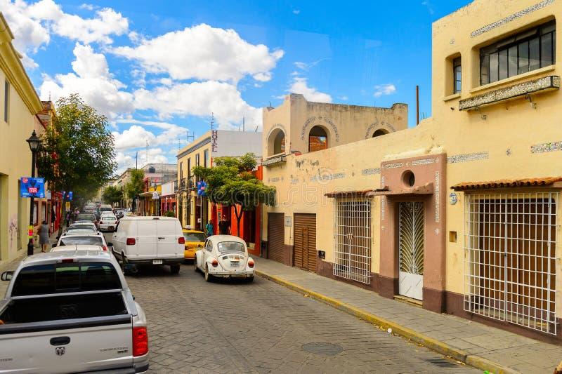 Architektur von Oaxaca lizenzfreie stockbilder