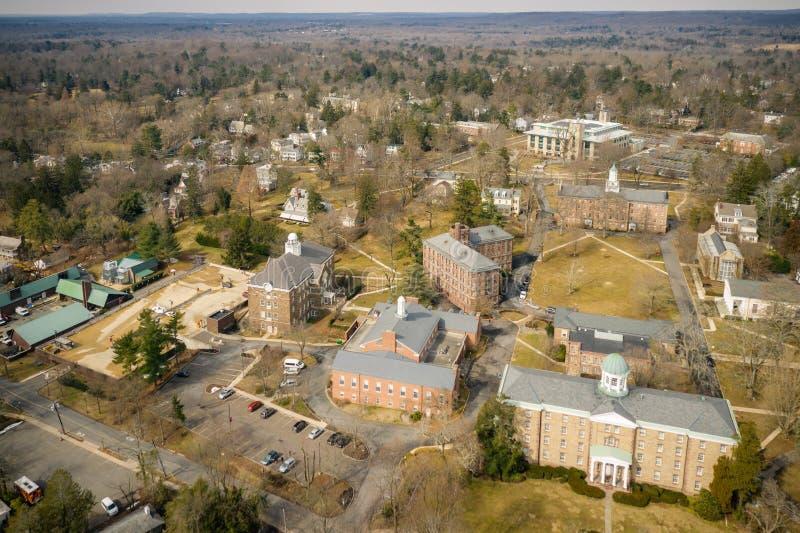 Architektur von Princeton lizenzfreie stockbilder