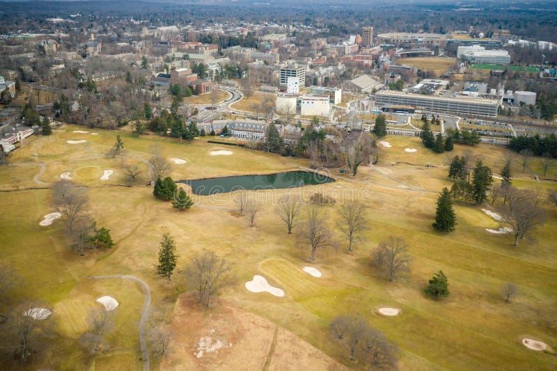 Architektur von Princeton lizenzfreie stockfotos