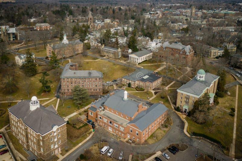 Architektur von Princeton stockfoto