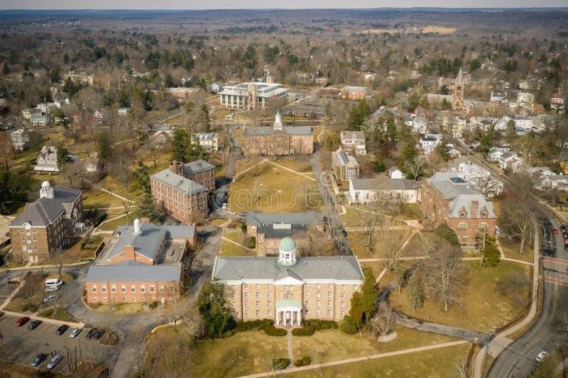 Architektur von Princeton stockfotos