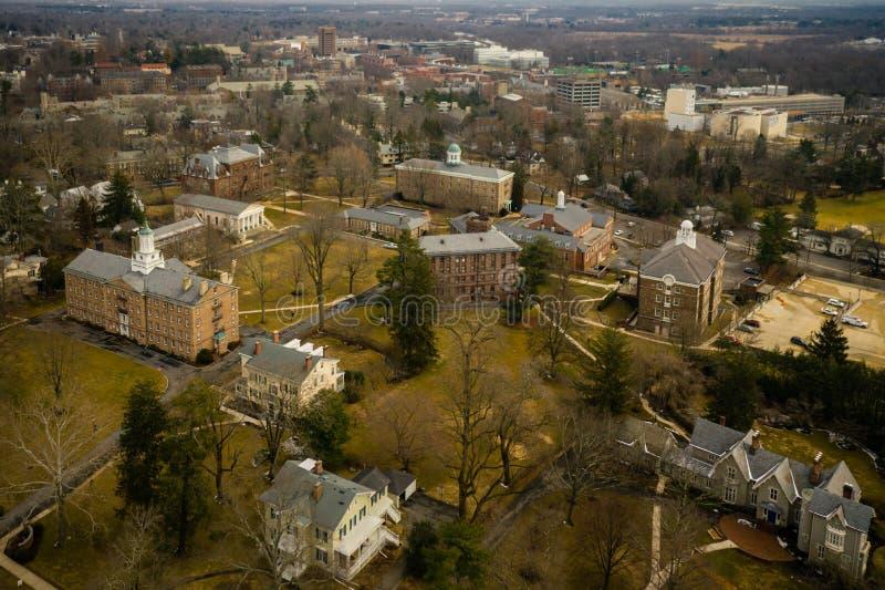 Architektur von Princeton stockbilder