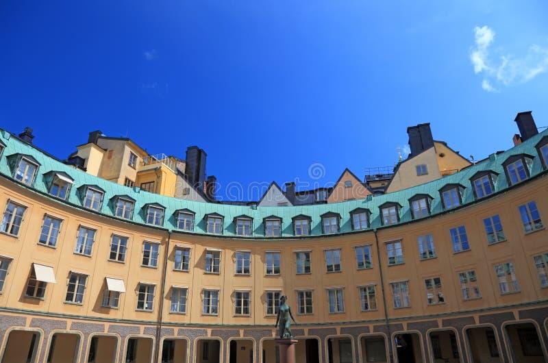 Architektur von Stockholm. lizenzfreie stockfotografie