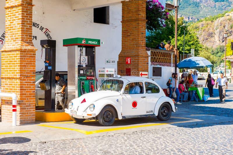 Architektur von Taxco, Mexiko stockfotografie
