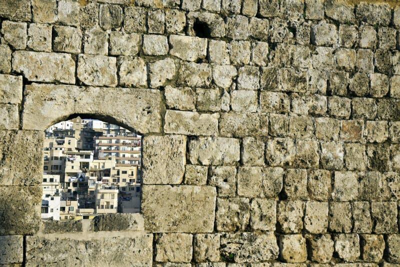 Architektur von Tripoli stockbild