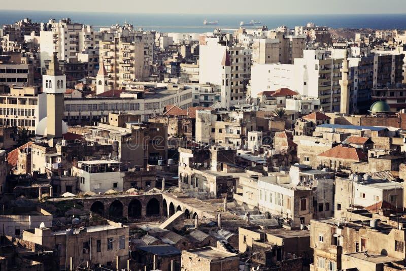 Architektur von Tripoli stockfotos