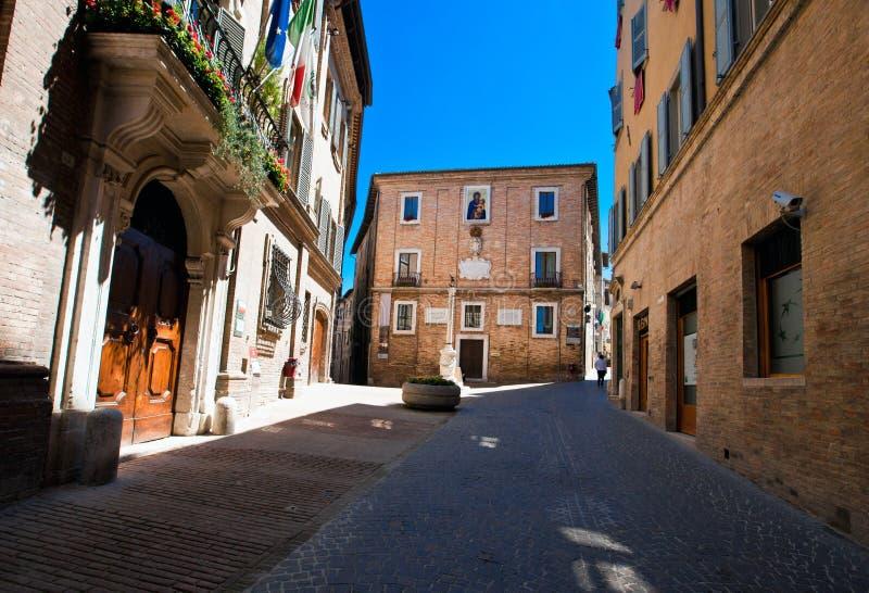 Architektur von Urbino lizenzfreie stockfotos