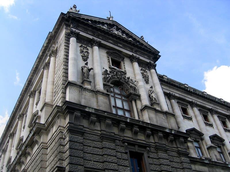 Architektur in Wien stockbild