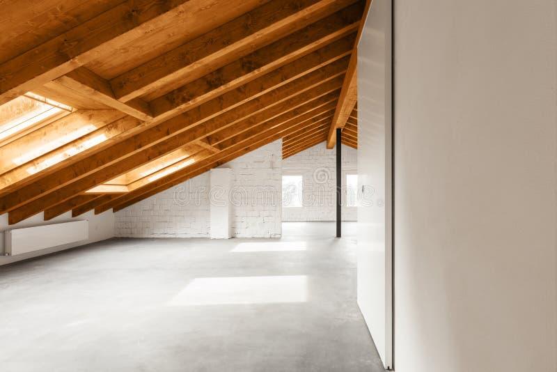 Architektur wnętrza, nowożytny dom fotografia royalty free