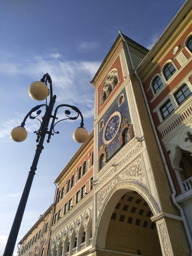 Architektur Yoshkar-Ola Laterne Attraktion, die Schönheit des Gebäudes lizenzfreie stockfotos