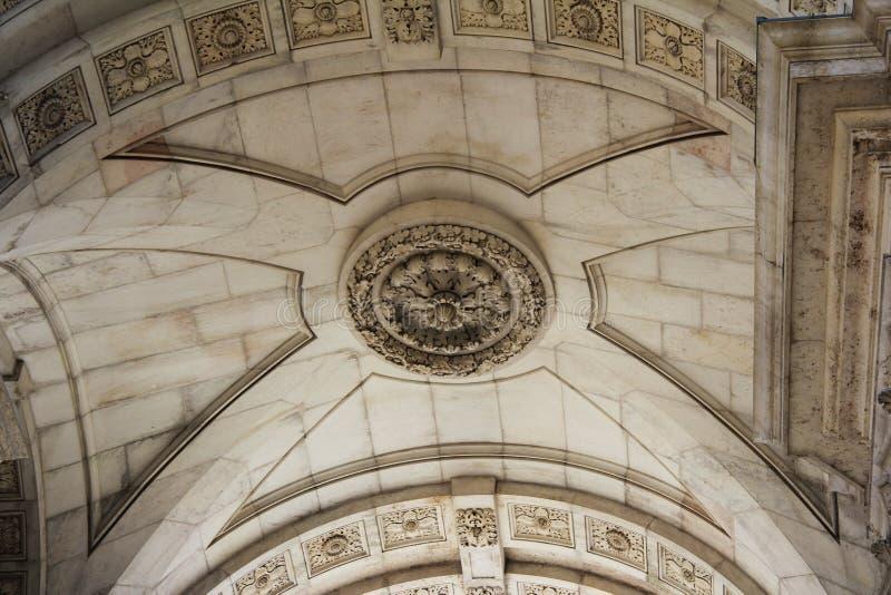 Architektura łuk obrazy royalty free