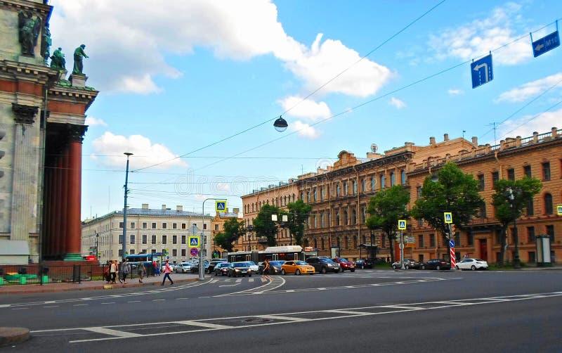 Architektura święty Petersburg obraz royalty free