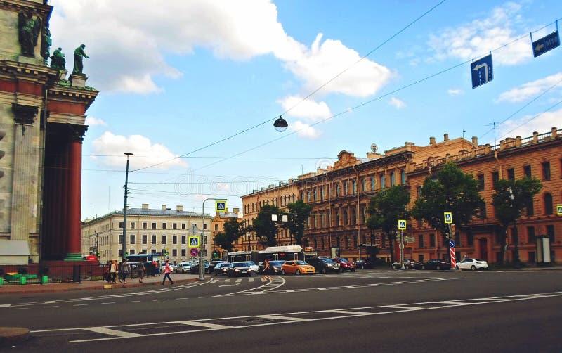 Architektura święty Petersburg fotografia stock