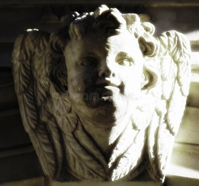 Architektura anioł obrazy stock