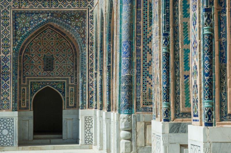 Architektura antyczny Samarkand obrazy royalty free