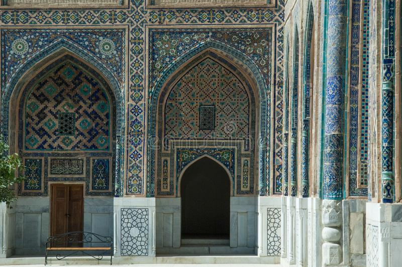 Architektura antyczny Samarkand zdjęcie royalty free