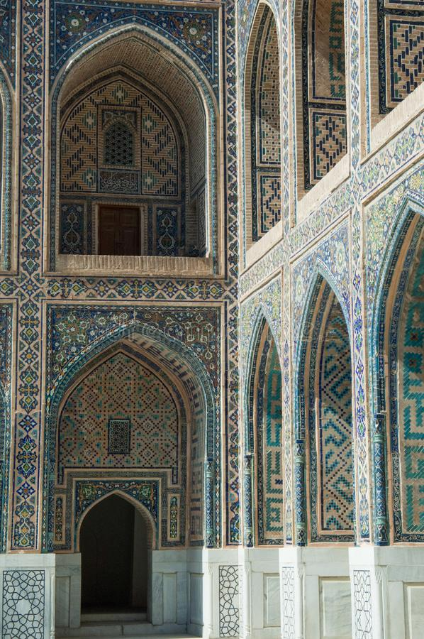 Architektura antyczny Samarkand obraz stock