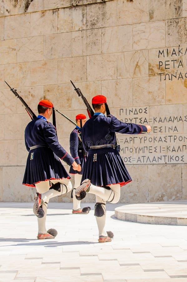 Architektura Ateny, Grecja obrazy royalty free