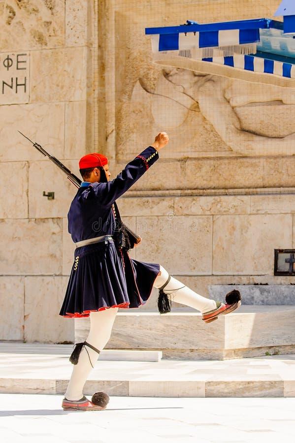 Architektura Ateny, Grecja obraz stock