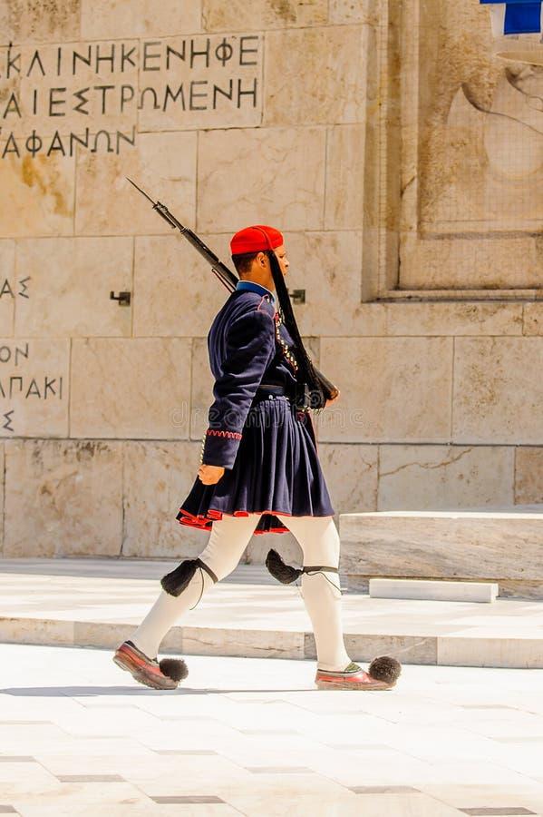 Architektura Ateny, Grecja zdjęcia stock