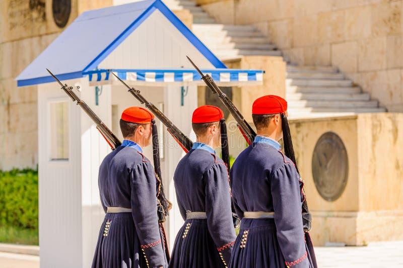 Architektura Ateny, Grecja zdjęcia royalty free