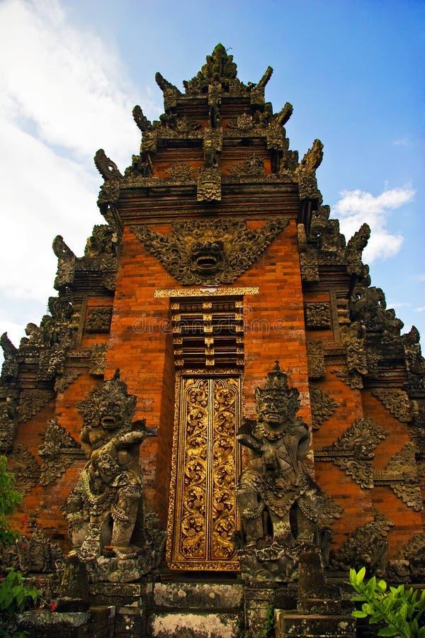 architektura Bali tradycyjny fotografia stock