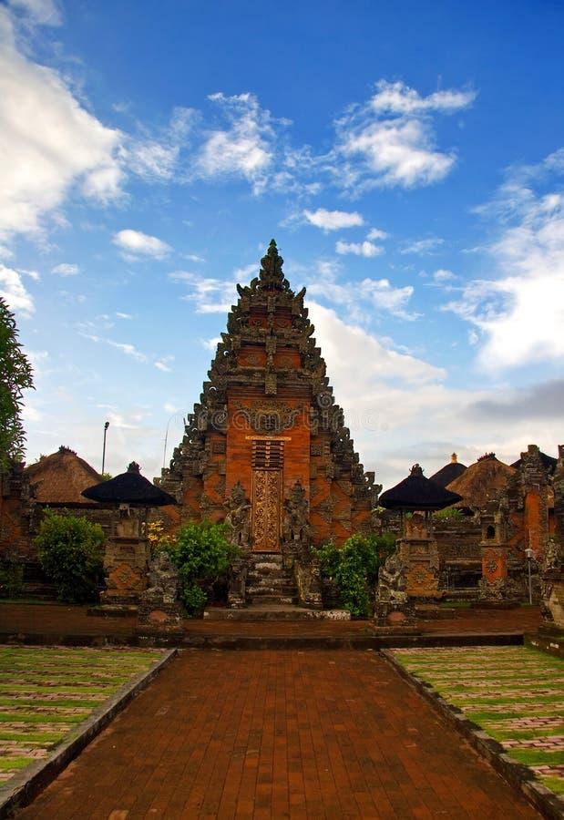 architektura Bali tradycyjny obrazy stock